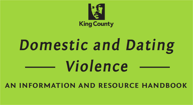 Domestic and dating violence an information and resource handbook